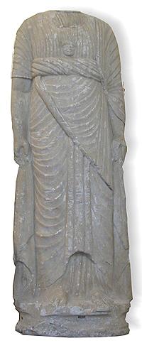 Statua di Minerva in marmo., territorio di Bergamo, II sec. d.C.