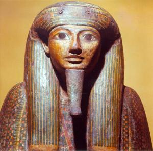 Particolare del sarcofago di Ankhekhonsu, sacerdote di Amon a Tebe, X-IX sec. a.C.